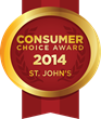 2014 St. John's Consumer Choice Award Winners
