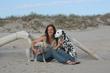 Lisa Hartman, Jay-J and Saffy in the Hamptons