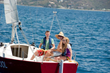 Peter Island Resort's Learn-To-Sail Package with Swain Sailing School is available for singles, couples or families.