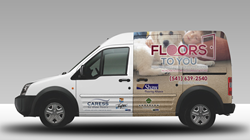 Oregon flooring company vans