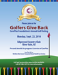 "Third Annual ""Golfers Give Back"" Golf Outing Scheduled for September"