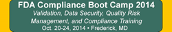 FDA Compliance Bootcamp Oct 2014