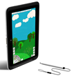 2go PC NL5 Rugged 2-in-1 Tablet - Vertical