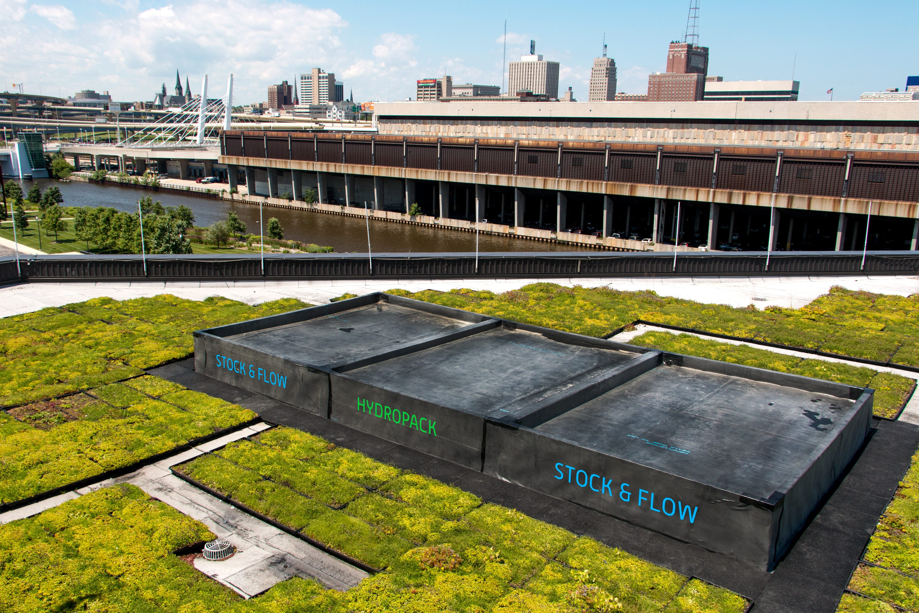 Green Roof Company Vegetal I D Inc Partners With Local
