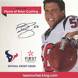 Houston Texans Linebacker, Brian Cushing