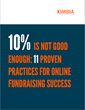 Kimbia's New Online Fundraising eBook Helps Nonprofits Go Beyond the...