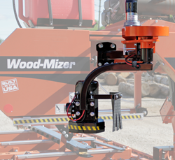 The redesigned Wood-Mizer LT35 portable sawmill Debarker offers more features and improved functionality.