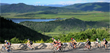 Stunning scenery near Steamboat Springs, Colorado awaits cyclists.