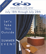 Dimension One Spas' Summer Savings Event