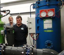 water savings, filtration