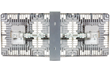 Explosion Proof LED Light Fixture that provides 36,000 lumens of light