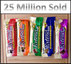 25 million Extend Bars sold