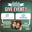 SYDNEY PAIGE® Inc. Hosting A Give Event To Donate Backpacks &...