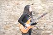 Anouck Andre endorses FretWraps, Gruv Gear's exclusive guitar string dampener