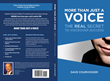 More Than Just A Voice, Book Cover