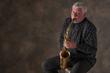 Saxophonist and clarinetist Harvey Wainapel. (Photo by Don Fogg)