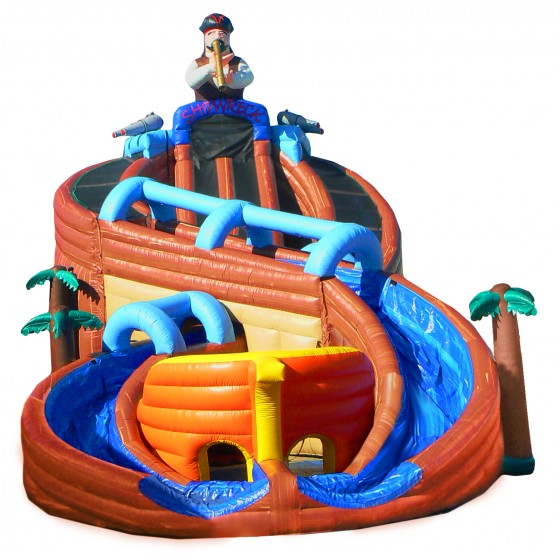 Inflatable Water Slide Mandurah: The Thrilling Shipwreck™ Water Slide From EInflatables