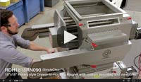 RotoDrawer Magnetic Separator
