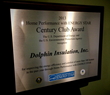 Century Club Award Plaque