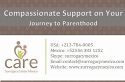 Connect with CARE Surrogacy Center Mexico