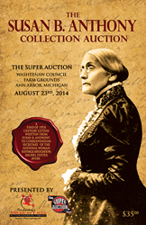 Susan B. Anthony, Autograph, Autographs, Memorabilia, Women's Suffrage, Equal Rights, Equality, Voting