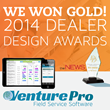 Mypointnow's VenturePro Wins National Gold in Dealer Design Awards