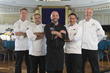 Chefs Rich Mathis, Asbel Reyes, Brian Vroman, Viet Vo, and Andrew Coniglio helped make the second annual Chefs' Showcase at the Church of Scientology's Fort Harrison Hotel a tour de force.