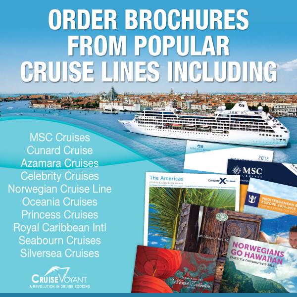 Cruise Voyant Now Offering Cruise Brochures From All Major Cruise - Cruise ship brochure