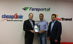 Sam Jain, Fareportal, Travelong, Turkish Airlinws, Alp Ozaman