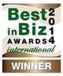Best in Biz Awards 2014 International bronze winner logo