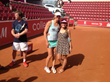 Tennis Professional Mona Barthel with Designer Denise Cronwall