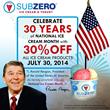 Grand Opening at Sub Zero Ice Cream in Madison
