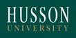 Husson University logo.