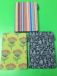 kindle cover, kindle case, lente designs, cornflower, siena stripe, monsters ink