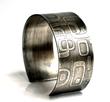 Mod Cuff in Sterling Silver