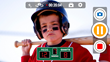 SportsCam interface for iPhone showing an interactive Baseball scoreboard