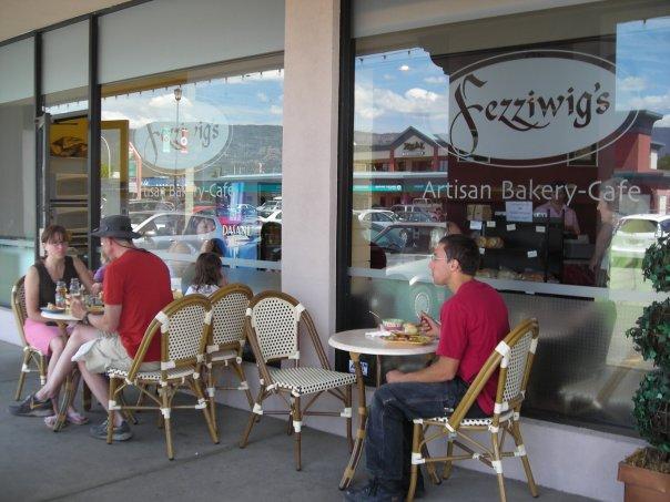 Restaurant furniture canada helps fezziwig s bakery café