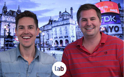 Lab founders, director Tom Head, and managing director Jonny Tooze