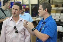 Olympian Chad Hedrick Visits Foot Levelers