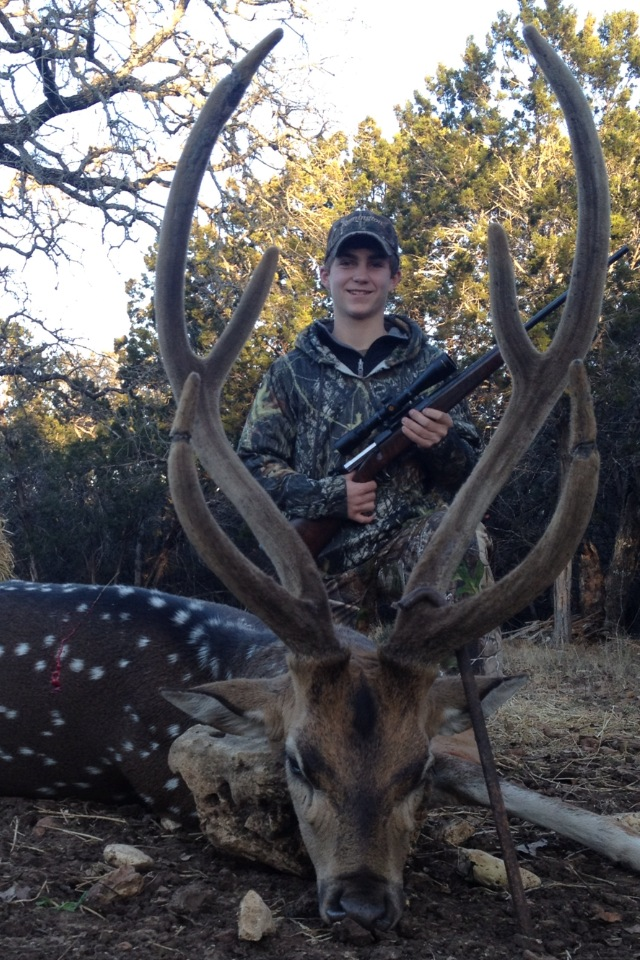Joshua creek ranch wins first place for trophy axis deer