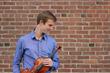 Violinist Alex Granger Premiers Composer Lucas Floyd's Violin Concerto with Violin Crafted by Violinmaker Eric Benning of Benning Violins