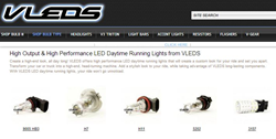 LED Daytime Running Lights from VLEDS