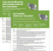 Checklist Tool for Healthier Child Cares Now Translated and Updated