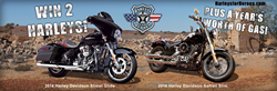 2014 Harleys for Heroes motorcycles