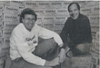 Dan Schweiker and John Martinson from their early days starting China Mist Tea Company
