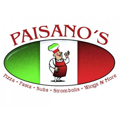 Paisano's Pizza Old Town Logo