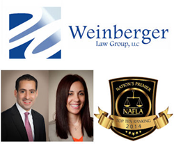 Weinberger Law Group New Jersey Attorneys Honored by NAFLA