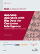 TDWI Report Offers Seven Steps to Help Enterprises Apply Analytics...