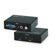VGA+R/L Audio to HDMI Converter