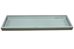 Four Foot, Four Lamp Class 1 Division 2 Fluorescent Light Fixture